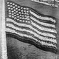 Great Lakes Training Station Human Flag 1916