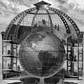 Great Model Of The Earth by Collection Abecasis/science Photo Library