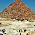 Great Pyramid Of Giza by Steve Harrington