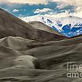 Great Sand Dunes by Boyd  E Van der Laan