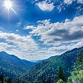 Great Smoky Mountains National Park On North Carolina Tennessee  by Alex Grichenko