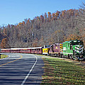 Great Smoky Mountains Railroad #777 4 by Joseph C Hinson Photography