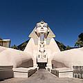 Great Sphinx Of Giza Luxor Resort Las Vegas by Edward Fielding