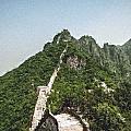 Great Wall 0033 - Pastel Chalk 2 Sl by David Lange