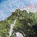 Great Wall 0033 - Watercolor 2 Sl by David Lange