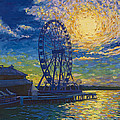 Great Wheel Sunset by Francesca Kee