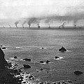 Great White Fleet Visits Sf by Underwood Archives