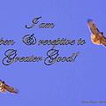 Greater Good by Bobbee Rickard