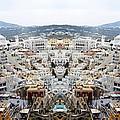 Greece Double Vision #51 by Evan Peller