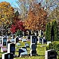 Greece Fall Cemetery by Richard Jenkins