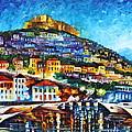 Greece Lesbos Island 2 by Leonid Afremov