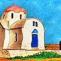 Greek Church 4a by George Rossidis