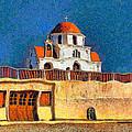 Greek Church 7 by George Rossidis