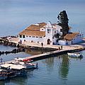 Greek Church In The Sea by Brenda Kean