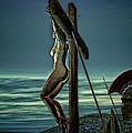 Greek Crucifixion Scene II by Ramon Martinez