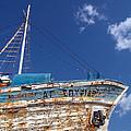 Greek Fishing Boat by Stelios Kleanthous