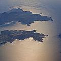 Greek Islands In The Aegean Sea   #7428 by J L Woody Wooden