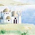 Greek Orthodox Church 2 by J Darrell Hutto