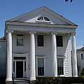 Greek Revival House - New London Ct by Christiane Schulze Art And Photography