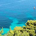 Greek Sea View by Tom Gowanlock