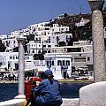 Greek Traveler by Michael Anderson