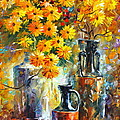 Greek Vases by Leonid Afremov
