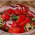 Greek Salad by Diane Ziemski