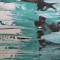 Green Abstract by Dotti Hannum