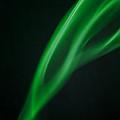 Green Smoke Abstract by Michalakis Ppalis