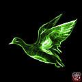 Green American Wigeon - 7675 F - Bb by James Ahn