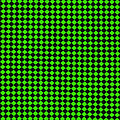 Green And Black Checkered Pattern Cloth Background by Keith Webber Jr
