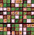 Green And Brown Sudoku by Karen Adams