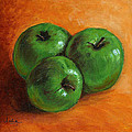 Green Apples by Asha Sudhaker Shenoy
