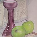 Green Apples by Carol Flagg