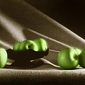 Green Apples by Tony Cordoza