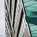 Green Architectural Detail by Deborah Benbrook