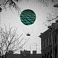 Green Balloon by Kelly Schutz