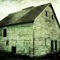 Green Barn by Julie Hamilton