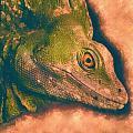 Green Basilisk Lizard by MotionAge Designs