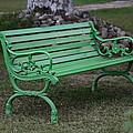 Green Bench by Niteen Kasle