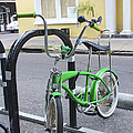 Green Bike by Carlos Diaz