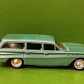 Green Buick Station Wagon by Matt Woolsey