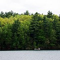 Canoe On Walden Pond by Catherine Gagne