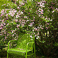 Green Chair by Lena Auxier