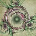 Green Circles by David Ridley