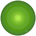 Green Circles by Frank Tschakert