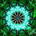 Green Compass by Kim Sy Ok