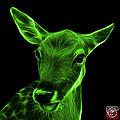 Green Deer - 0401 F by James Ahn