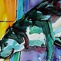 Green Dog by JULES Buffington