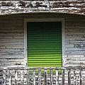 Green Door Galveston Tx  by John McGraw